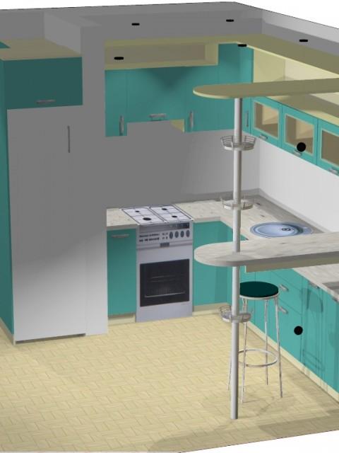 купить кухонный гарнитур в Феодосии