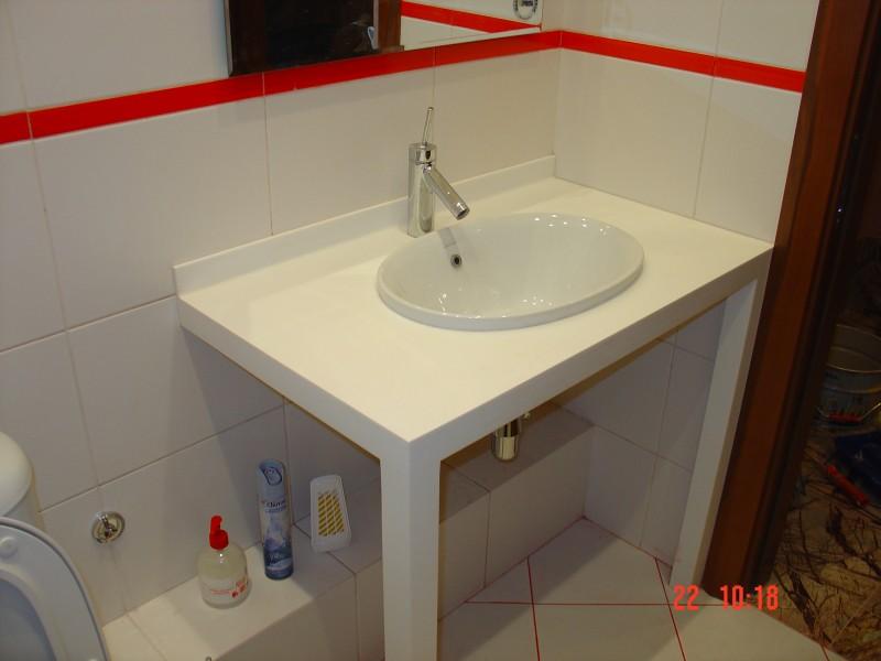 Искусственный камень для ванной