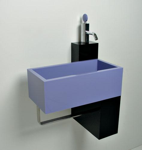 Умывальник в ванную из кориана