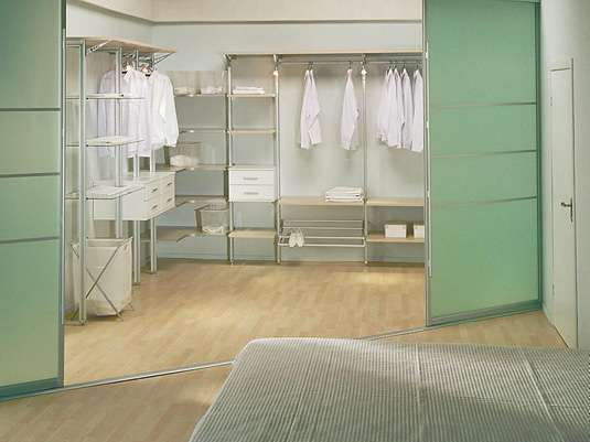 гардеробная комната фото 2