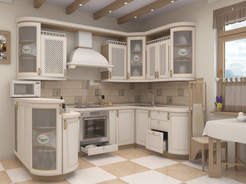 дизайн кухонной мебели феодосия