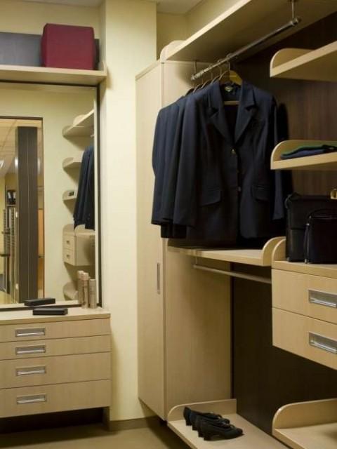 фото гардеробной комнат 3