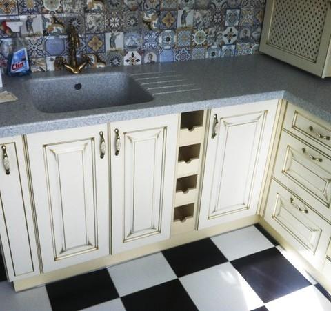 Кухня краска Авелла патина 3