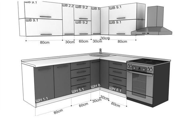 дизайн кухни Феодосия