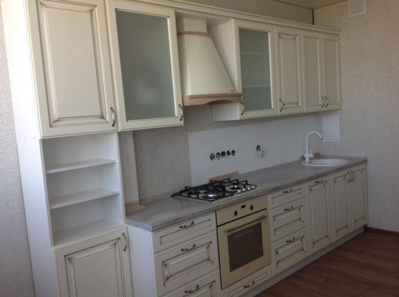 крашеные фасады для кухни